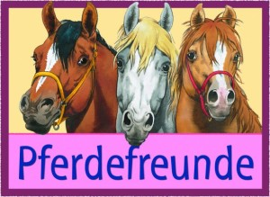 Schriftzug-Pferdefreunde