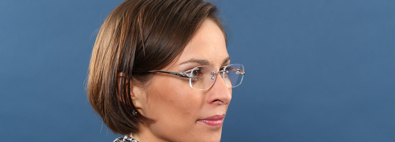 neue auswahl wie man serch hochwertige Materialien Randlose Brillen - Spezialoptik Villa Fischbach