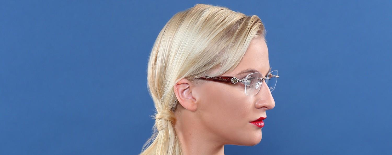 Randlose Brillen - Spezialoptik Villa Fischbach